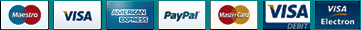 We accept credit card and paypal